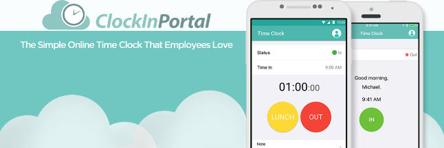 Clockin Portal Time Tracking Software